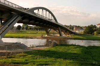 Waldschlösschenbrücke, Elbe Valley