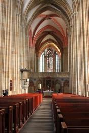 Dome of Meißen, inside