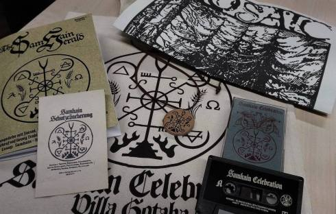 """Samhain Celebration"" merch bundle, Nov. 2016"
