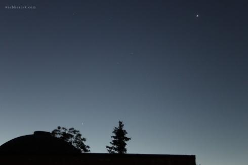 Venus, Mars, Jupiter